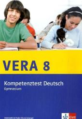 VERA 8 - Kompetenztext Deutsch, Gymnasium Klasse 8, m. Audio-CD