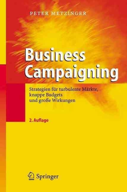 Business Campaigning - Peter Metzinger