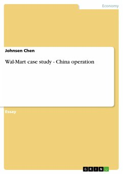 Wal-Mart case study - China operation - Chen, Johnsen