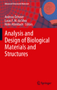 Analysis and Design of Biological Materials and Structures - Andreas Öchsner; Lucas F. M. da Silva; Holm Altenbach