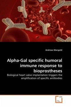 Alpha-Gal specific humoral immune response to bioprostheses - Mangold, Andreas