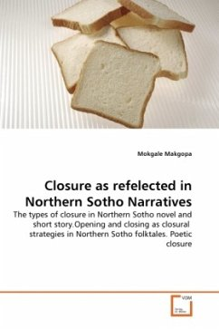 Closure as refelected in Northern Sotho Narratives - Makgopa, Mokgale
