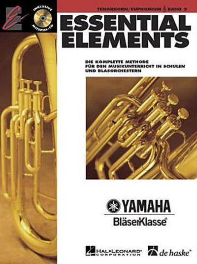 Essential Elements, für Bariton/Euphonium, m. Audio-CD. Bd.1 - Tim Lautzenheiser