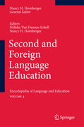 Second and Foreign Language Education
