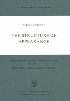The Structure of Appearance - Goodman, Nelson