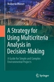Strategy for Using Multicriteria Analysis in Decision-Making - Nolberto Munier