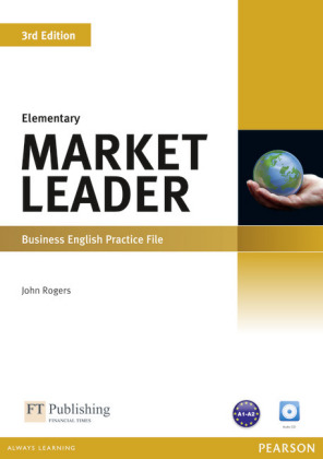 Market Leader, Elementary, New Edition - Business English: Practice File, w. Audio-CD - Niveau A1-A2