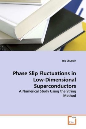 Phase Slip Fluctuations in Low-Dimensional  Superconductors - A Numerical Study Using the String Method