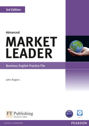 Market Leader, 3rd Edition, Advanced - Business English: Practice File, w. Audio-CD