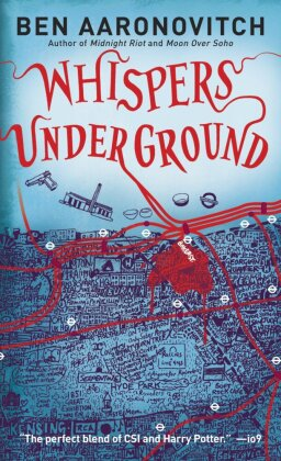 Rivers of London: Whispers Under Ground. Ein Wispern unter Baker Street, englische Ausgabe (Originaltitel: Whispers under ground)