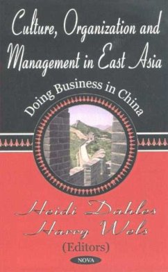 Culture, Organization and Management in East Asia - Wels, Harry