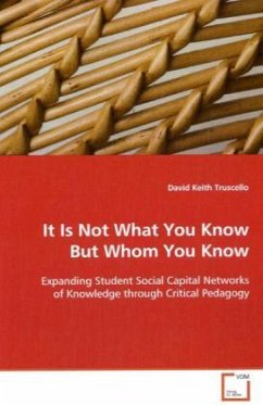 It Is Not What You Know But Whom You Know - Truscello, David Keith