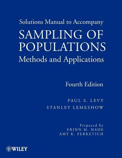 Sampling of Populations Solutions Manual: Methods and Applications - Levy, Paul S. Lemeshow, Stanley