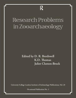 Research Problems in Zooarchaeology - Herausgeber: Brothwell, D. R. Clutton-Brock, Juliet Thomas, K. D.