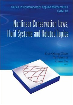 Nonlinear Conservation Laws, Fluid Systems and Related Topics - Herausgeber: Liu, Chun Chen, Gui-Qiang Li, Ta-Tsien