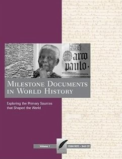 Milestone Documents in World History-4 Volume Set - Herausgeber: Bonhomme, Brian Boivin, Cathleen