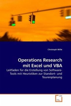 Operations Research mit Excel und VBA - Wille, Christoph