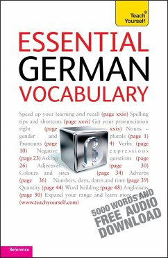 Teach Yourself. Essential German Vocabulary - Kahlen, Lisa