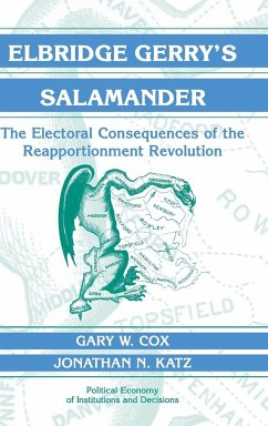 Elbridge Gerry's Salamander: The Electoral Consequences of the Reapportionment Revolution - Cox, Gary W. Katz, Jonathan N.
