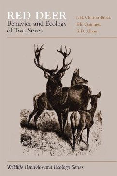 Red Deer: Behavior and Ecology of Two Sexes - Clutton-Brock, T. H.