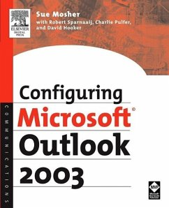 Configuring Microsoft Outlook 2003 - Mosher, Sue