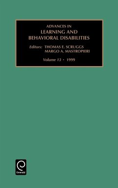 Advances in Learning and Behavioral Disabilities: Vol 13 - Mastropieri, M.