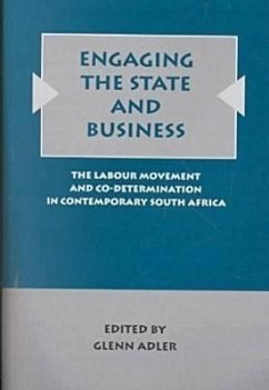 Engaging the State and Business - Herausgeber: Adler, Glenn