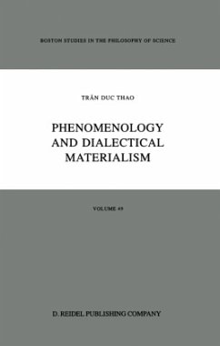 Phenomenology and Dialectical Materialism - Trân Duc Thao Herman, D. J. Morano, D. V.
