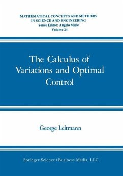 The Calculus of Variations and Optimal Control - Leitmann, George