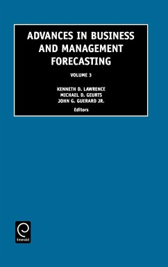 Advances in Business and Management Forecasting, 3 - Kenneth D. Lawrence, D. Lawrence Lawrence, K. D. Geurard, John B.
