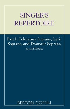The Singer's Repertoire, Part I - Coffin, Berton