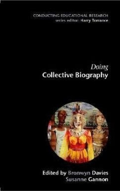Doing Collective Biography - Davies Bronwyn Gannon Susanne