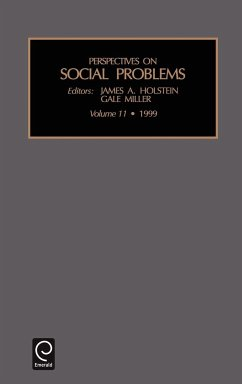Perspectives on Social Problems - James a. Holstein, A. Holstein Holstein, James A. Miller, Gale