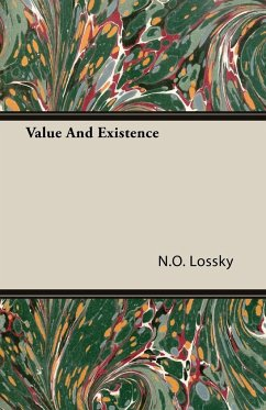 Value And Existence - Lossky, N. O.