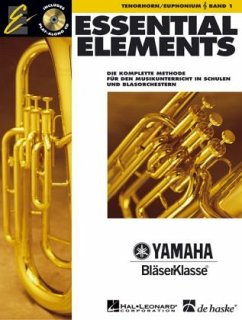 Essential Elements, für Tenorhorn/Euphonium in B (TC), m. Audio-CD - Lavender, Paul