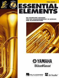 Essential Elements, für Tuba, m. Audio-CD - Lavender, Paul