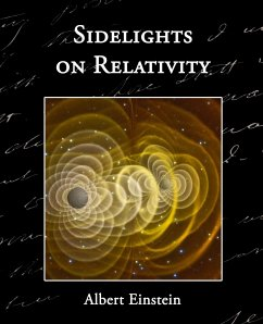 Sidelights on Relativity - Einstein, Albert