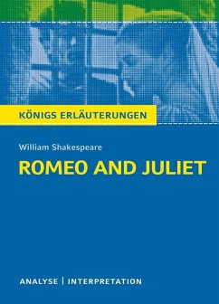 Romeo and Juliet - Romeo und Julia von Wiliam Shakespeare. - Shakespeare, William