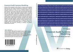 Financial Audit Systems Modeling - Akinyemi, John A. Jin, Dean