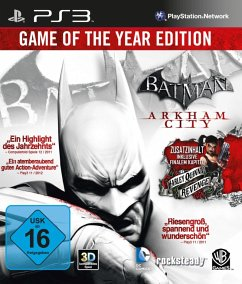 Batman: Arkham City - Game Of The Year Edition (PlayStation 3)