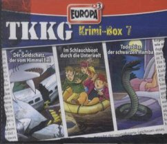Krimi-Box 7 / TKKG Bd.122/127/141 (3 Audio-CDs) - TKKG