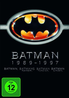Batman 1-4 (4 Discs) - Bob Kane; Sam Hamm; Warren Skaaren; Daniel Waters; Lee Batchler; Janet Scott Batchler; Akiva Goldsman