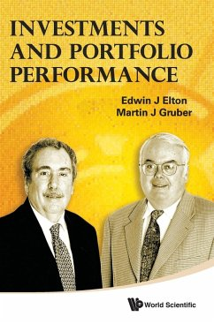 Investments and Portfolio Performance - Elton, Edwin J. Gruber, Martin J.