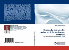 Heat and mass transfer studies on different leather materials - Parthiban, Rangasamy