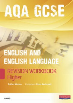 Revise GCSE AQA English/Language Workbook - Higher - Menon, Esther