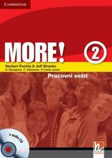 More! Level 2 Workbook with Audio CD Czech Edition - Herbert Puchta, Jeff Stranks, Gunter Gerngross, Christian Holzmann, Peter Lewis-Jones