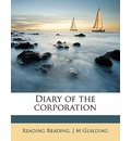 Diary of the Corporation - Reading Reading