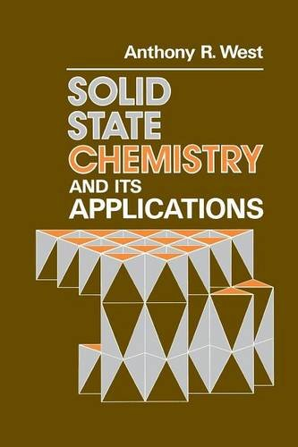Solid State Chemistry and Its Applications - Anthony R. West