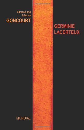 Germinie Lacerteux (French Edition) - Edmond De Goncourt
