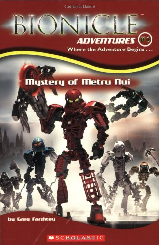 Bionicle Adventures #1: Mystery of Metru Nui - Greg Farshtey